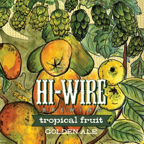 Hi-Wire Brewing 'Tropical Fruit' Golden Ale 12oz Sgl
