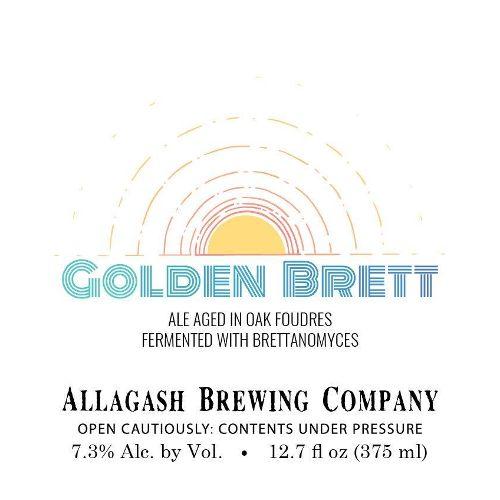 Allagash 'Golden Brett' Ale Aged in Oak Barrels 375ml