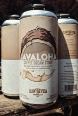 Haw River 'Javaloha' Milk Stout brewed with Coconut, Vanilla & Hawaiian Coffee 16oz (Can)
