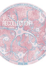 Jester King 'Vague Recollection 2017' Farmhouse Ale Refermented w/ Syrah and Sangiovese Pomace 750ml