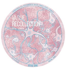 Jester King 'Vague Recollection 2017' Farmhouse Ale 750ml