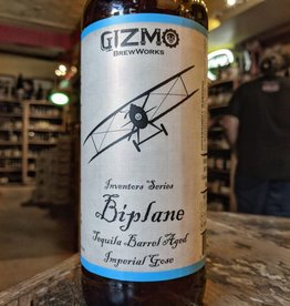 Gizmo BrewWorks 'Biplane' Imperial Gose aged in Tequila Barrels 22oz