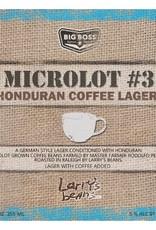 Big Boss 'Microlot #3' Coffee Lager 12oz Sgl