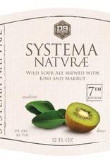 D9 'Systema Naturae #7' Wild Sour Ale w/ Kiwi & Makrut 12oz Sgl
