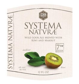 D9 'Systema Naturae #7' Wild Sour Ale 12oz Sgl