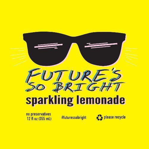 Devil's Foot 'Future So Bright' Sparking Lemonade 12oz (Can)