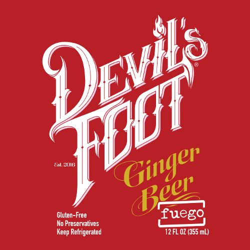 Devil's Foot 'Fuego' Ginger Beer 12oz (Can)