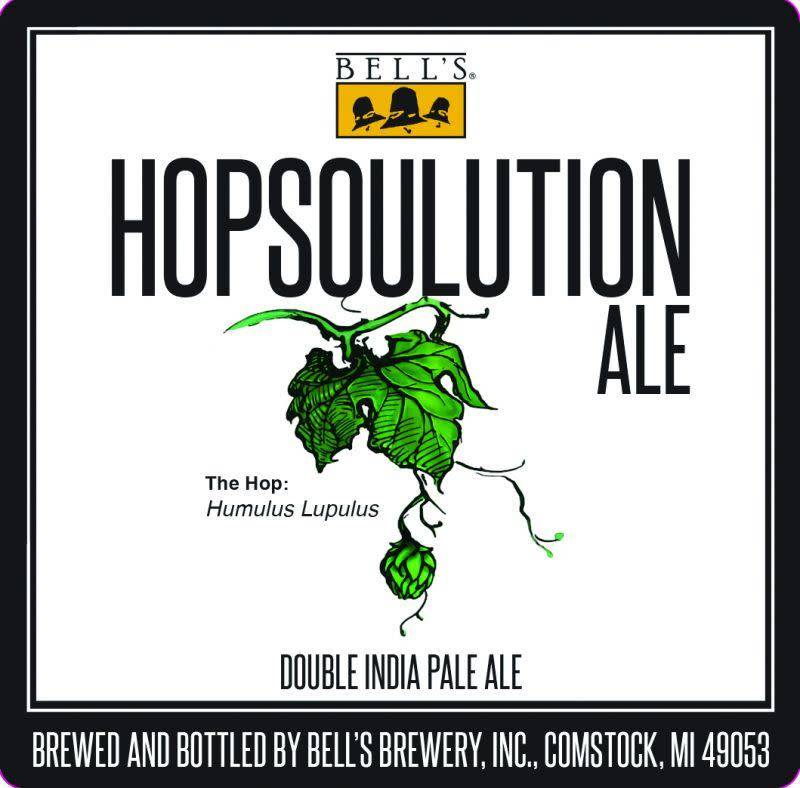 Bell's 'Hopsoulution' Double IPA 12oz Sgl