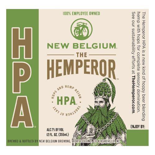 New Belgium Brewing 'Hemperor' IPA 12oz Sgl