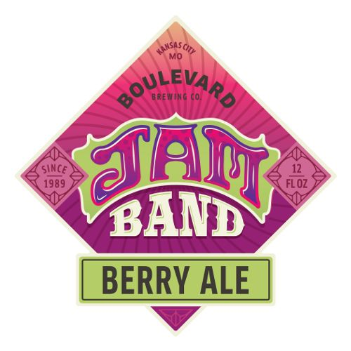 Boulevard 'Jam Band' Berry Ale 12oz (Can)