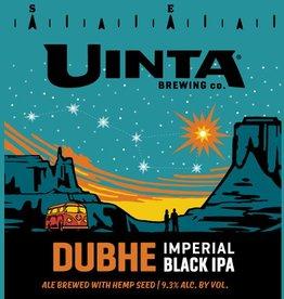 Uinta 'Dubhe' Imperial Black IPA w/ Hemp Seed 12oz (Can)