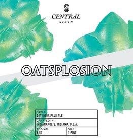 Central State 'Oatsplosion' Oat IPA  16oz (Can)