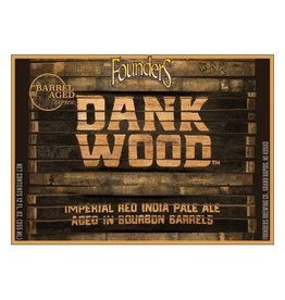 Founders Brewing Co. 'Dankwood' Imperial Red IPA aged in Bourbon Barrels 12oz Sgl