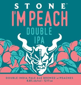 Stone Brewing 'I'm Peach' Double IPA w/ Peaches 12oz (Can)