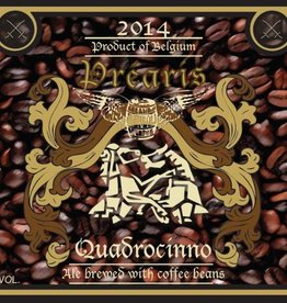 Préaris 'Quadrocinno' Ale brewed w/ Coffee Beans 375ml