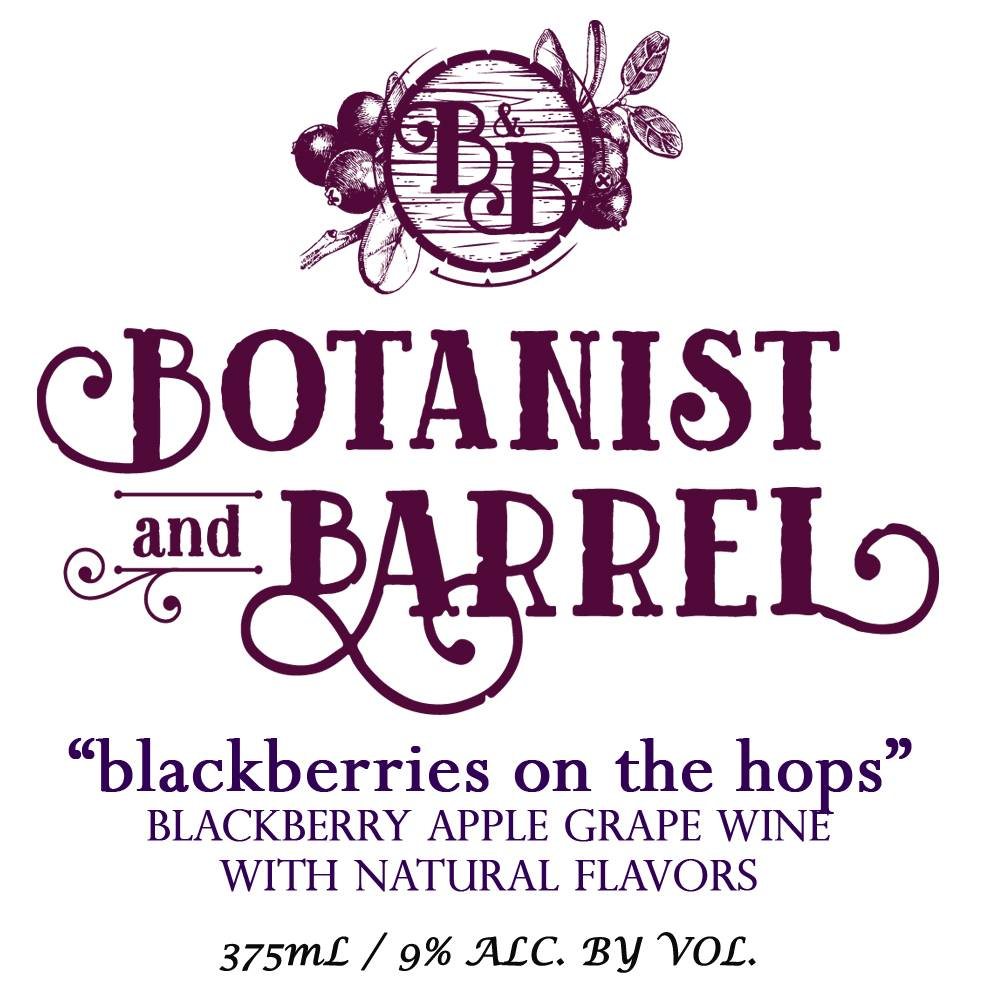 Botanist & Barrel 'Blackberries on the Hops' 375ml