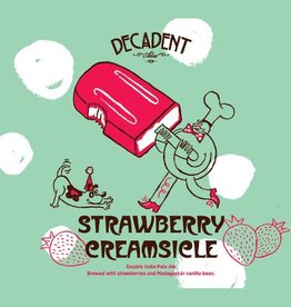Decadent Ales 'Strawberry Creamsicle' Double IPA 16oz (Can)