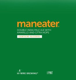 Hi-Wire 'Man Eater' Double IPA 16oz Sgl (Can)