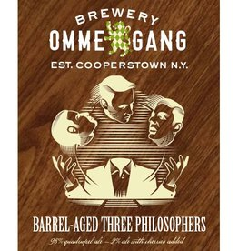 Ommegang 'Barrel-aged Three Philosophers 16' Bourbon Barrel-aged Quadrupel Ale 750ml