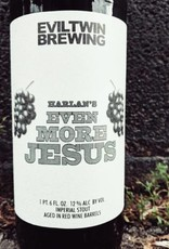 Evil Twin 'Harlan's Even More Jesus' Imperial Stout aged in Red Wine Barrels 22oz