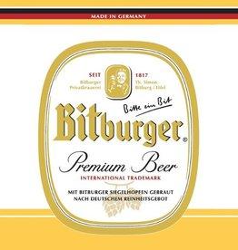 Bitburger 'Premium Beer' 330ml Sgl