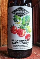 Carolina Bauernhaus 'Strawberry Farmhouse' Barrel Aged Sour Ale aged on Strawberries 500ml