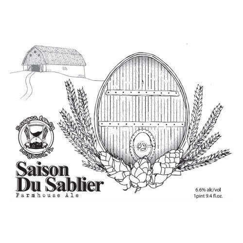 Hourglass 'Saison du Sablier' Farmhouse Ale 750ml