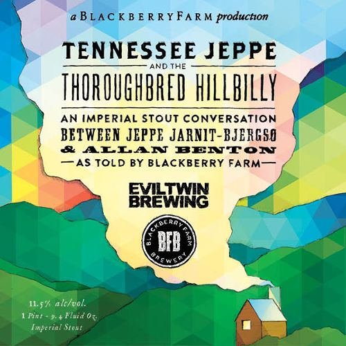 Blackberry Farm x Evil Twin 'Tennessee Jeppe and the Thoroughbred Hillbilly' Imperial Stout 750ml