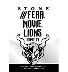 Stone 'Fear.Movie.Lion' Imperial New England-Style IPA 16oz (Can)