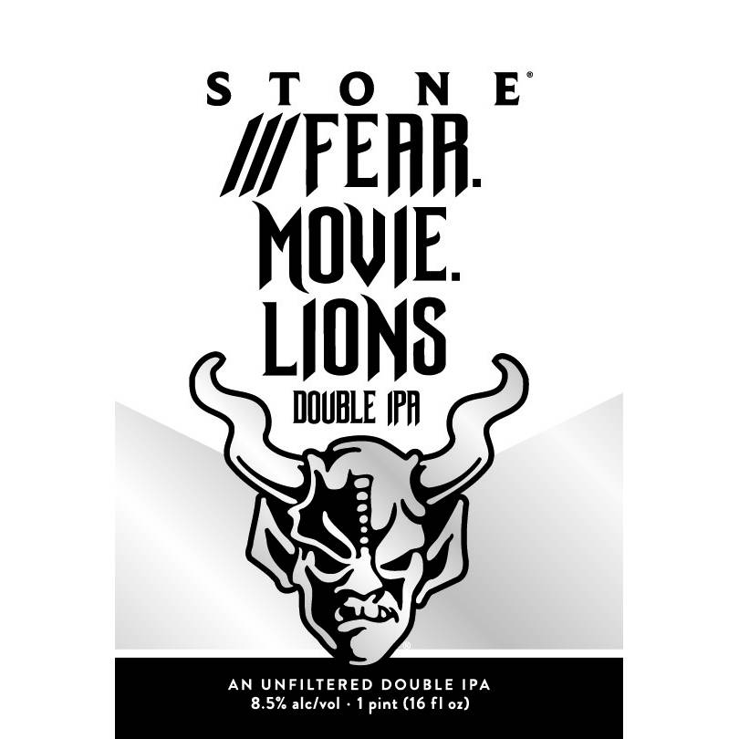 Stone Brewing 'Fear.Movie.Lion' Imperial New England-Style IPA 16oz (Can)