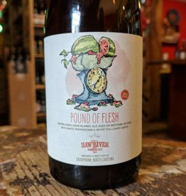 Haw River 'Pound of Flesh' Barrel-aged Sour Ale 500ml