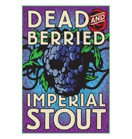 Foothills 'Dead & Berried' Blackberry Imperial Stout 32oz Growler (plus Deposit)