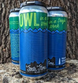 Fonta Flora 'Owl in a Day's Work' IPA 16oz (Can)