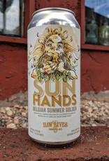 Haw River Farmhouse Ales 'Sun Hands' Belgian Summer Golden Ale 16oz (Can)