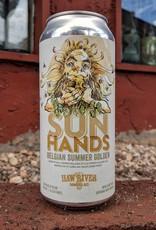 Haw River 'Sun Hands' Belgian Summer Golden Ale 16oz (Can)