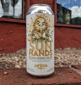 Haw River Farmhouse Ales 'Sun Hands' Belgian Summer Golden Ale 16oz (Can)