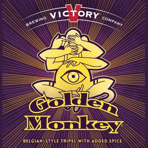 Victory 'Golden Monkey' Belgian-style Tripel 12oz Sgl