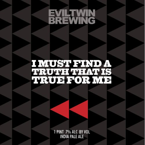 Evil Twin 'I Must Find a Truth That is True for Me' New England-Style IPA 16oz (Can)