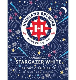 Highland Brewing Company 'Stargazer' Citrus White 12oz (Can)
