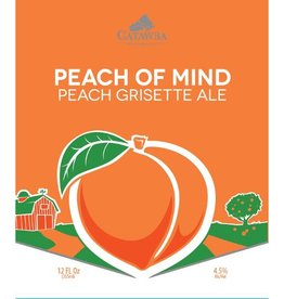Catawba 'Peach of Mind' Grisette Ale 12oz (Can)