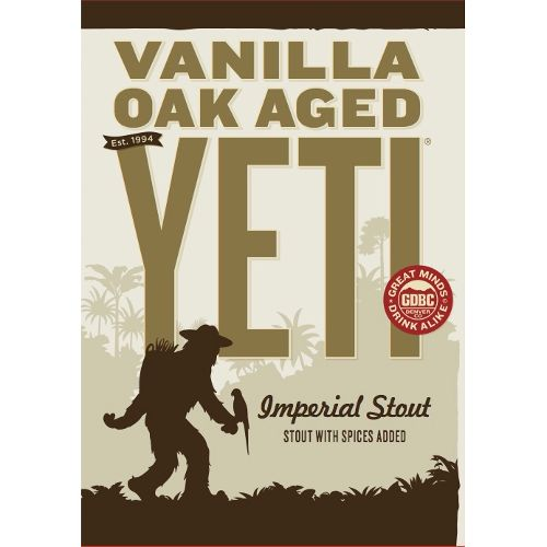 Great Divide 'Vanilla Oak Aged Yeti' Imperial Stout 22oz