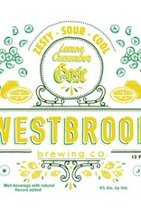 Westbrook 'Lemon Cucumber' Gose 12oz (Can)