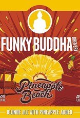 Funky Buddha 'Pineapple Beach' Blonde Ale w/ Pineapple 12oz (Can)