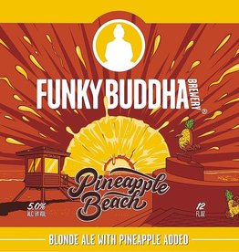 Funky Buddha 'Pineapple Beach' Blonde Ale 12oz (Can)