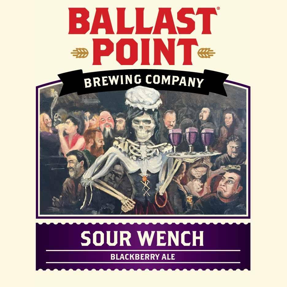Ballast Point Brewing Co. 'Sour Wench' Blackberry Ale 12oz Sgl