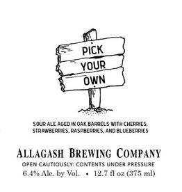 Allagash 'Pick Your Own' Sour Ale 375ml