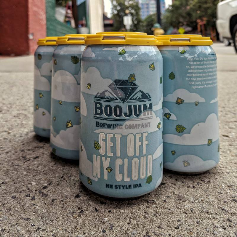 Boojum 'Get Off My Cloud' New England-Style IPA 12oz (Can)