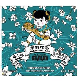 Master Gao 'Baby Jasmine Tea Lager' 330ml Sgl