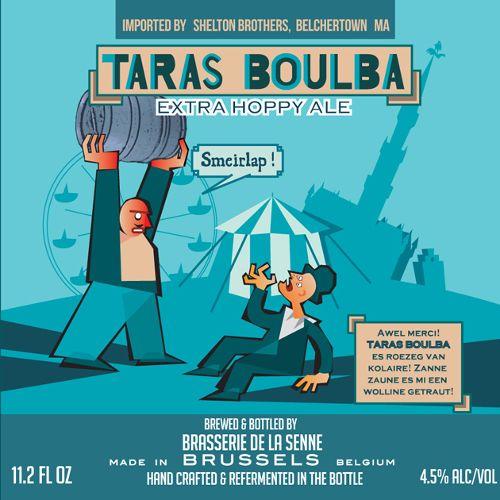 De La Senne 'Taras Boulba' Extra Hoppy Ale 330ml