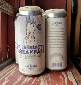Haw River Farmhouse Ales 'St. Benedicts Breakfast Dubbel' 16oz (Can)